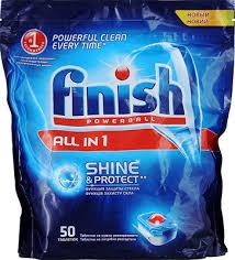 <b>Таблетки FINISH 3018752</b> 50 шт AIO бесфосфатные купить в ...