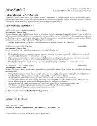 sheriff officer resume   sales   officer   lewesmrsample resume  sle resume for police officer workbloom