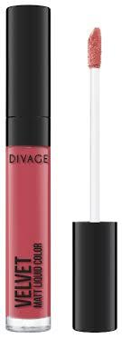 DIVAGE <b>Жидкая матовая помада для</b> губ Velvet — купить по ...