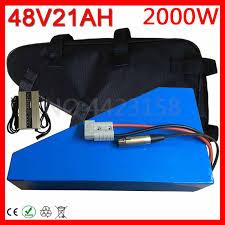 <b>48V</b> 20Ah <b>Triangle Battery 48V</b> 1000W <b>2000W</b> Electric Bike <b>Battery</b> ...