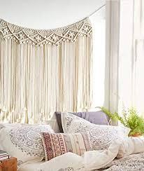 Macrame <b>Wall Hanging</b> Boho Wedding Hanger Cotton <b>Handmade</b>
