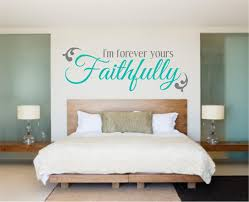 bedroom decal bedroom wall decal love decal i'm forever