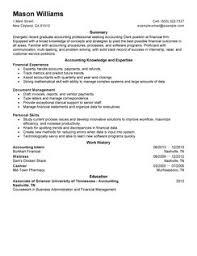 best accounting clerk resume example   livecareeraccounting clerk resume example