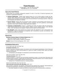 academic skill conversion chemical engineering sample resume resume format for chemical engineer