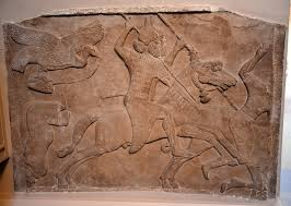 ian warfare history encyclopedia assyrian battle scene