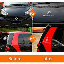 For <b>smart</b> 450 <b>451 453 Fortwo</b> car door handle sticker car decoration ...