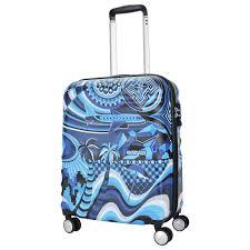 <b>Чемодан American Tourister</b> MWM Summer Flow синий S купить ...