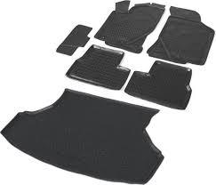 Комплект <b>ковриков салона и багажника</b> Rival для Lada Granta ...