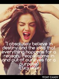 Lucy Hale Quotes on imgfave via Relatably.com