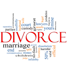 Lots of words about divorce