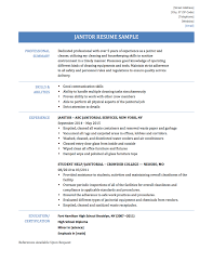 essay resume for janitor sample janitor resume sample janitor essay janitor resume samples templates and tips resume for janitor sample janitor resume sample