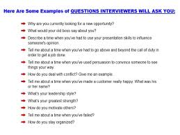 prepare job interview questions to ask 6