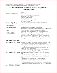 resume resume chronological printable resume chronological image