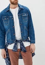 Мужские <b>джинсовые</b> куртки <b>Wrangler</b> купить в интернет-магазине ...