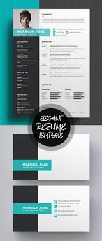 new professional cv resume templates cover letter design elegant resume cv template