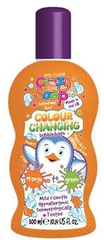 Kids Stuff Волшебная <b>пена для ванны</b>, <b>меняющая</b> цвет (из ...