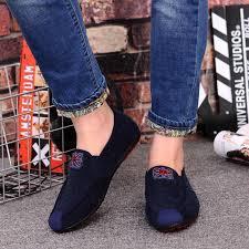 <b>Men</b> Loafers Design Superstar Slip on Comfort <b>Peas</b> Black <b>Shoes</b> ...