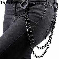 denim chain alloy stainless steel strap for apple watch38 42mm watch for iwatch