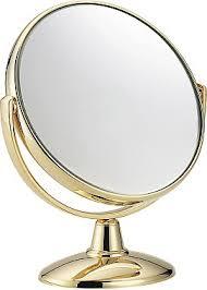 <b>Зеркало настольное</b> позолоченное увеличение x3 диаметр 170 ...