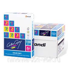 Бумага <b>Color Copy</b>, белая, А4, <b>100 г</b>/<b>м2</b>, 500 л., для полноцветной ...