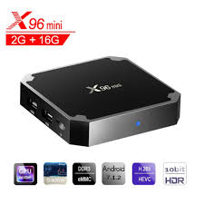 <b>X96 Mini</b> Android 7.1 <b>TV BOX</b> 2GB 16GB Amlogic S905W Quad ...