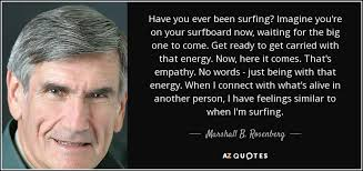 Image result for empathy & surfing marshall rosenberg
