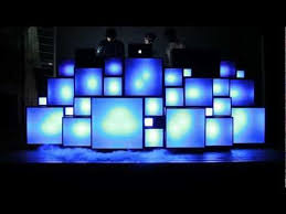 """Colored Cubes <b>Light Up</b> in Responsive <b>DJ</b> Stage for """"The ..."""