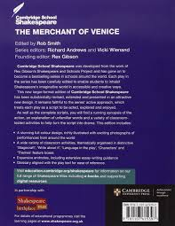 the merchant of venice cambridge school shakespeare amazon co uk the merchant of venice cambridge school shakespeare amazon co uk william shakespeare rex gibson robert smith richard andrews vicki wienand books