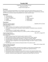 Unforgettable Call Center Representative Resume Examples to Stand ... Call Center Representative Resume Sample