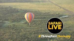 #ThrowbackThursday: Mara Hot <b>Air Balloon</b> Safari - YouTube