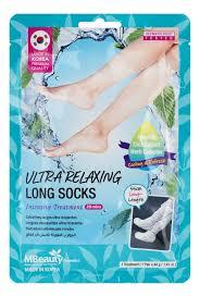 <b>Тканевая маска-гольфы для</b> ног Ultra Relaxing Long Socks 1пара ...