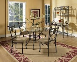 room modern camille glass: glass dining metal alexis modern round glass dining table