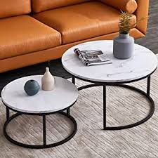 Coffee Tables - Round / Coffee Tables / Tables: Home ... - Amazon.com