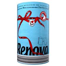 <b>Полотенца бумажные Renova Red</b> Label Blue двухслойные ...