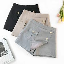 <b>AcFirst</b> Spring Sequined Black Gray Polyester Shorts <b>Women</b> ...