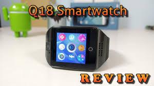 <b>Q18 Smartwatch</b> REVIEW - YouTube