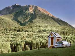 tiny house in the mountains boulder tiny house front