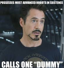 meme robert downey jr iron man tony stark rdj The Avengers I am ... via Relatably.com