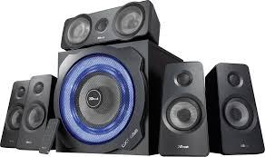 <b>Trust GXT 658 Tytan</b> 5.1 PC speaker Corded 90 W Black | Conrad.com
