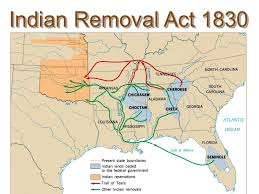 「1830, andrew jackson signed the document of indian law」の画像検索結果