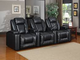 brown leather seating reclining living
