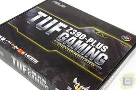 Обзор <b>материнской платы ASUS TUF</b> Z390-Plus Gaming
