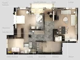 Two  quot   quot  Bedroom Apartment House Plans   Architecture  amp  Design  Zen Two Bedroom Apartment
