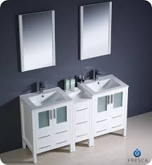 white double sink bathroom  inch double sink bathroom vanity set with matching mirror  white double sink bathroom vanity tsc
