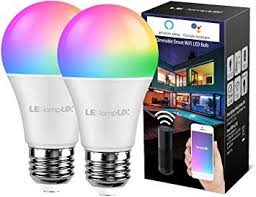 LE LampUX <b>WiFi</b> Smart Light Bulb, Compatible with Alexa, Google ...