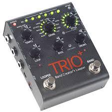 <b>DigiTech Trio+</b> 10084262 « <b>Педаль</b> эффектов для электрогитары