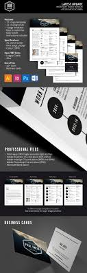 creative resume templates to land a new job in style job resume template set logos business cards