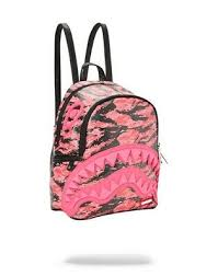 Новый розовый тигр <b>Sprayground</b> камуфляж дикарь <b>рюкзак</b> | eBay