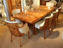 table and chairs dining tables and deco on pinterest art deco dining furniture