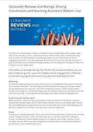 Product Review Writing Services